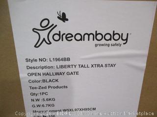Dreambaby Liberty Tall Xtra Stay Open Hallway Gate