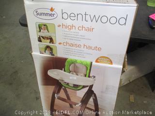 Summer Bentwood High Chair