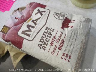 Max Adult Recipe Dog Food (Bag Torn)