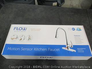 Flow Motion Sensor Kitchen Faucet