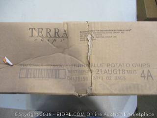Terra Vegetable Chips Blues Sea Salt