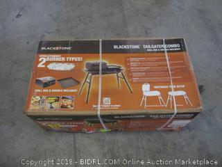 Blackstone Tailgater Combo grill box and griddle