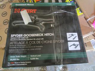 spyder gooseneck hitch