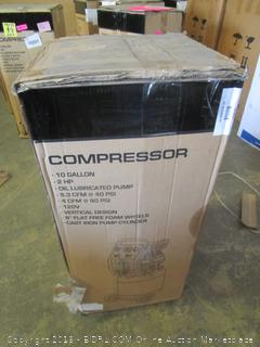 10 gallon vertical compressor