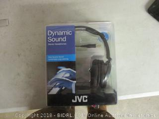 JVC dynamic sound stereo headphones
