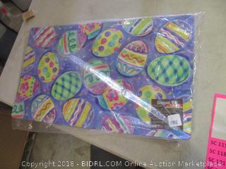 easter egg designer mat