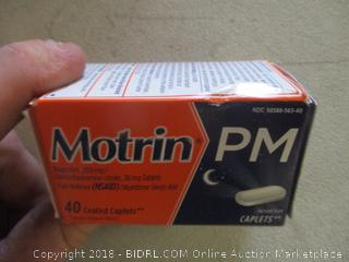 Motrin PM caplets