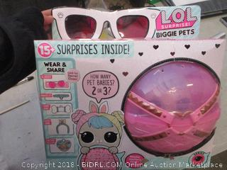 LOL surprise biggie pets toys