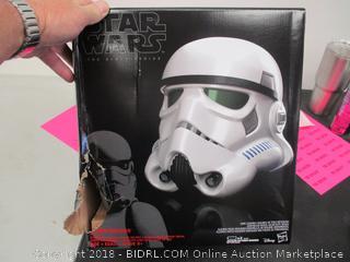 Star Wars Stormtrooper Electronic Voice Changer Helmet