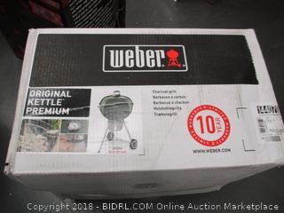 Weber Kettle Grille Sealed
