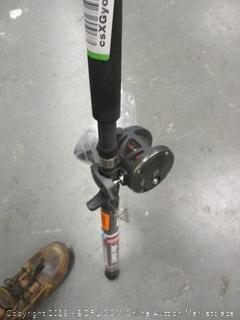 Fishing Pole Damaged