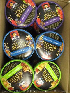 Quaker Oatmeal Real Medleys Cups