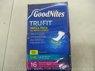 Goodnites Disposable Underwear Inserts for Kids