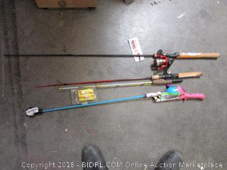 Fishing Poles (Some Damaged)