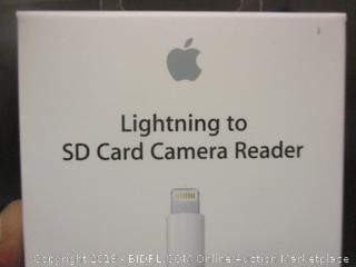 Lighting to USB Camera Adapter