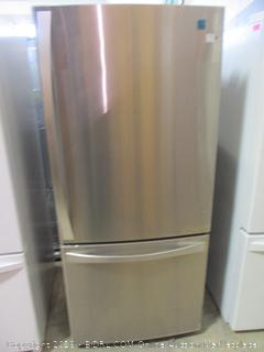 Kenmore Elite Refrigerator Powers On, Scratched/dented See Pictures