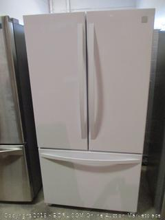 Kenmore Refrigerator  Powers On, Dented,Scratched See Pictures