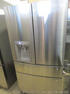 Kenmore Elite Refrigerator Powers on, Missing Screws See Pictures