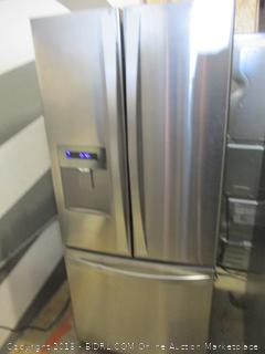 Kenmore Refrigerator Powers on, Dented See Pictures