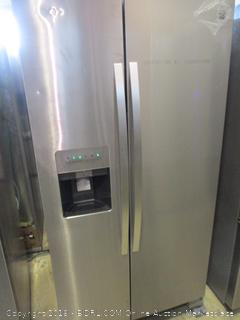 Kenmore Refrigerator Powers On,  Dented,  See Pictures