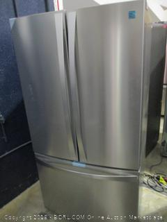 Kenmore Elite Refrigerator Powers on, Scratched,dented See Pictures