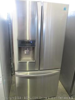 Kenmore Elite Refrigerator Powers On, Dented See Pictures