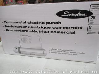 Commercial Electric Hole Punch