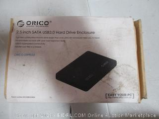 2.5 Inch SATA USB3.0 Hard Drive Enclosure