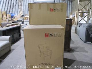 9 Pc Dining Set See Pictures/ Sealed Opened for Picturing