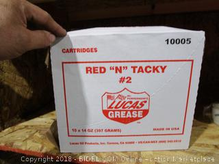 Red N Tacky Lucas Grease