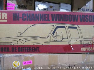 In Channel Window Visor