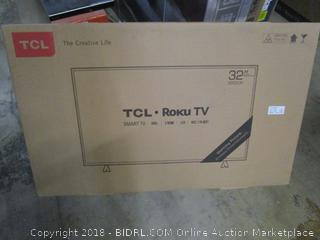 """TCL Roku TV Smart TV 32"""" Powers On See Pictures"""