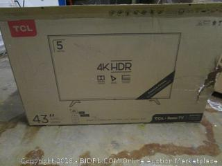 """TCL Ak HDR 43"""" Powers On Please Preview"""