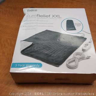 Pure Relief XXL Ultra Wide Microplush Heating Pad