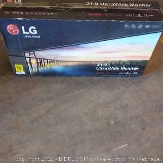 LG Ultra Wide Monitor See Pictures