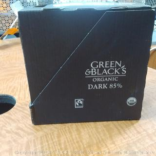 Green & Black Organic Dark 85% Chocolate  Bars