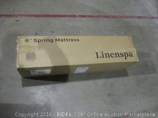 "Linenspa Twin 6"" Spring Mattress"