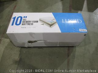 """Lucid 10"""" Gel Memory Foam Mattress Twin XL"""