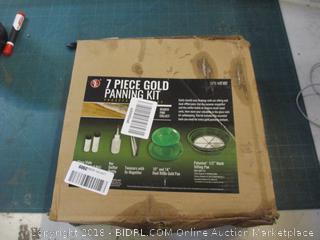 7 Piece Gold Panning Kit