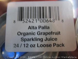 Organic Grapefruit Sparkling Juice
