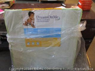 Dream On Me Portable Mattress