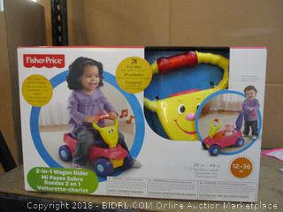 Fisher Price 2 in 1 Wagon Rider