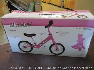Beleey Balance Bike
