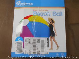 Giant Beach Ball - New (Online $50+)