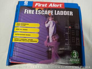 Fire Escape Ladder - New