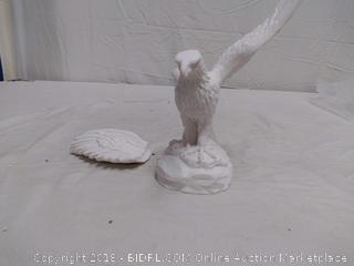 Eagle Statue - Broken Wing