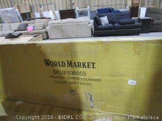 World Market Praiano Chaise Lounger