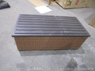 Outdoor Storage Coffee Table