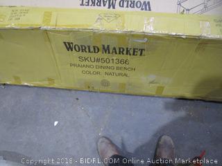 World Market Praiano Dining Bench
