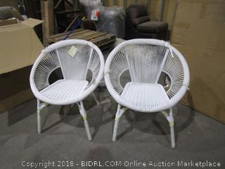 World Market 2 Chair Outdoor